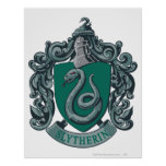 Harry Potter   Slytherin Crest Green Poster