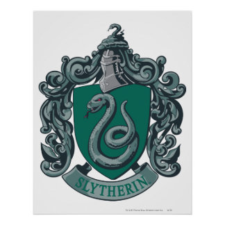 Harry Potter | Slytherin Crest Green Poster