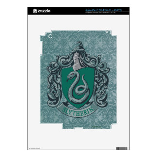 Harry Potter | Slytherin Crest Green Skin For iPad 3