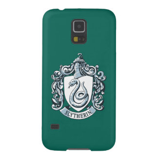 Harry Potter | Slytherin Crest - Ice Blue Galaxy S5 Case