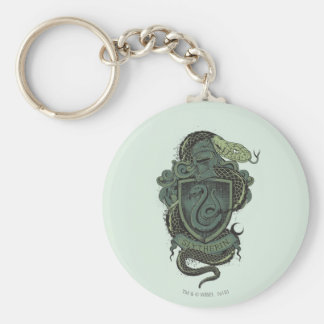 Harry Potter  | Slytherin Crest Keychain