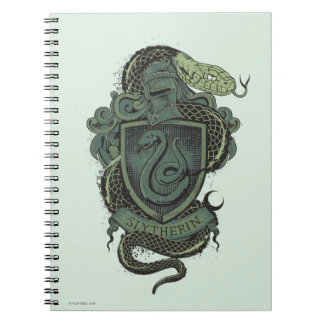 Harry Potter | Slytherin Crest Notebook