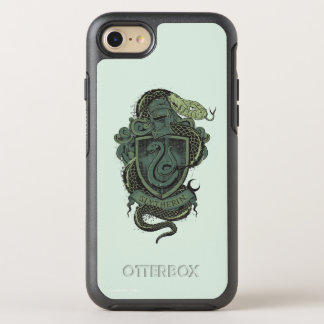 Harry Potter    Slytherin Crest OtterBox Symmetry iPhone 8/7 Case