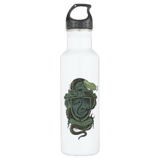 Harry Potter  | Slytherin Crest Stainless Steel Water Bottle