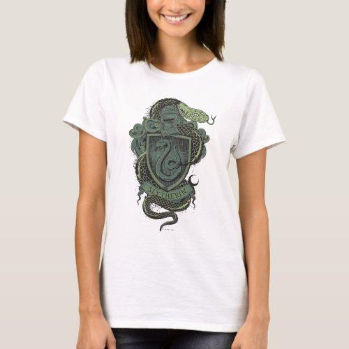 Harry Potter  Slytherin Crest T_Shirt