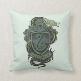 Harry Potter  | Slytherin Crest Throw Pillow