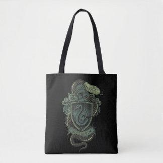Harry Potter  | Slytherin Crest Tote Bag