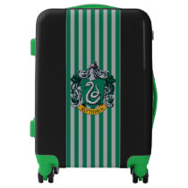 Harry Potter | Slytherin Crest With Gold Banner Luggage