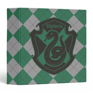 Harry Potter | Slytherin House Pride Crest 3 Ring Binder