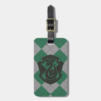 Harry Potter | Slytherin House Pride Crest Bag Tag