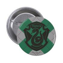 Harry Potter | Slytherin House Pride Crest Button