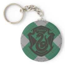 Harry Potter | Slytherin House Pride Crest Keychain