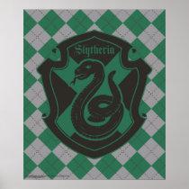 Harry Potter | Slytherin House Pride Crest Poster