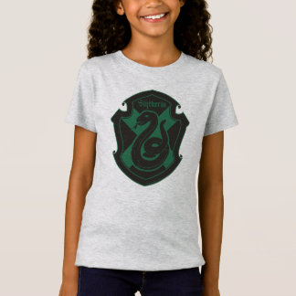 Harry Potter | Slytherin House Pride Crest T-Shirt