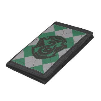 Harry Potter   Slytherin House Pride Crest Tri-fold Wallet