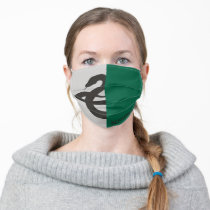 Harry Potter | Slytherin House Pride Graphic Adult Cloth Face Mask