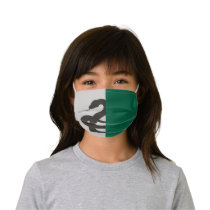 Harry Potter | Slytherin House Pride Graphic Kids' Cloth Face Mask
