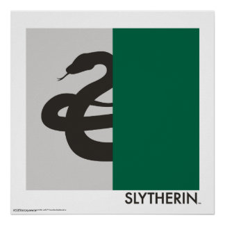 Harry Potter | Slytherin House Pride Graphic Poster