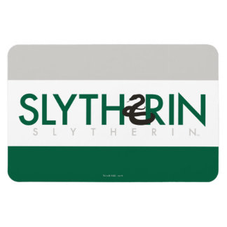 Harry Potter | Slytherin House Pride Logo Magnet
