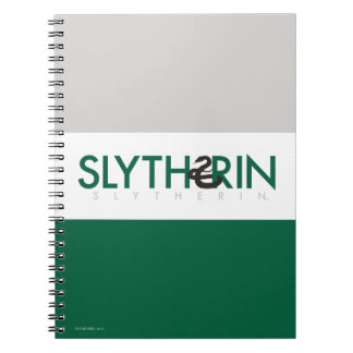 Harry Potter | Slytherin House Pride Logo Notebook