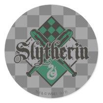 Harry Potter | Slytherin QUIDDITCH™ Crest Classic Round Sticker