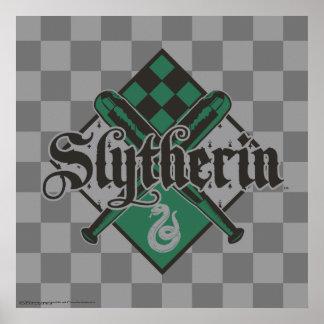 Harry Potter | Slytherin QUIDDITCH™ Crest Poster