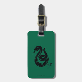 Harry Potter | Slytherin Snake Icon Bag Tag