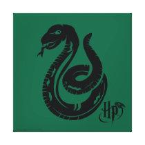 Harry Potter   Slytherin Snake Icon Canvas Print