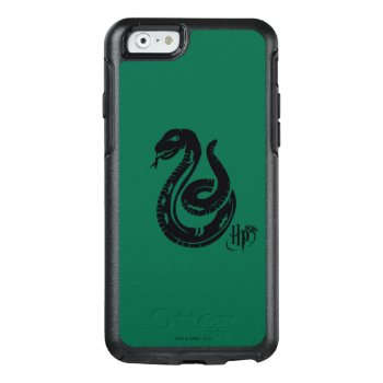 Harry Potter   Slytherin Snake Icon Otterbox Iphone 6/6s Case by harrypotter at Zazzle