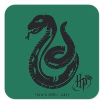 Harry Potter | Slytherin Snake Icon Square Sticker
