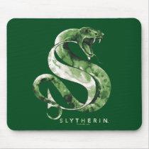 Harry Potter | SLYTHERIN™ Snake Watercolor Mouse Pad