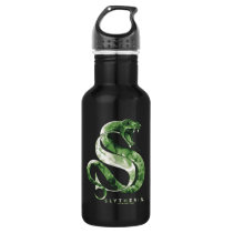 Harry Potter | SLYTHERIN™ Snake Watercolor Stainless Steel Water Bottle