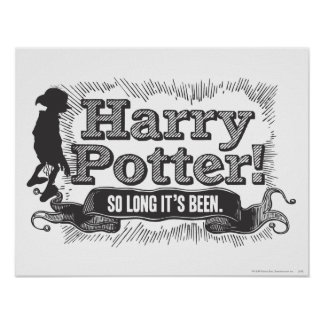 Harry Potter! So Long it's Been Poster