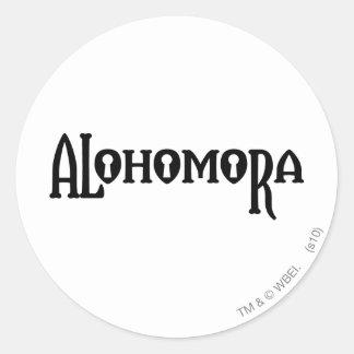Harry Potter Spell | Alohomora Classic Round Sticker