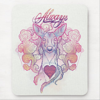 "Harry Potter Spell | ""Always"" Doe Patronus Mouse Pad"