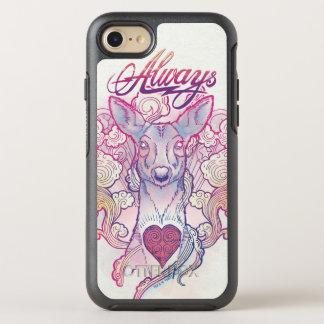 "Harry Potter Spell   ""Always"" Doe Patronus OtterBox Symmetry iPhone 8/7 Case"