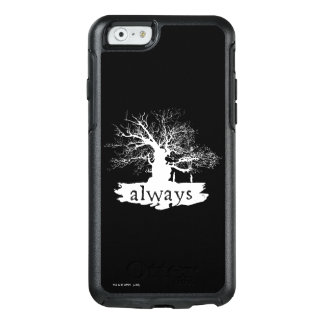 Harry Potter Spell   Always Quote Silhouette OtterBox iPhone 6/6s Case