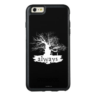 Harry Potter Spell   Always Quote Silhouette OtterBox iPhone 6/6s Plus Case