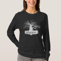 Harry Potter Spell   Always Quote Silhouette T-Shirt