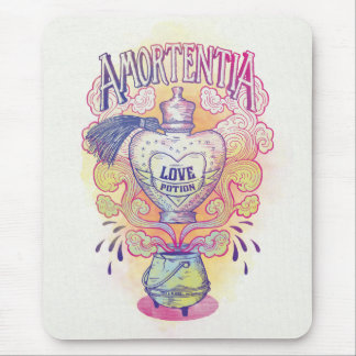 Harry Potter Spell | Amortentia Love Potion Bottle Mouse Pad