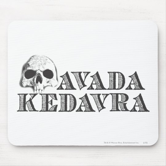 Harry Potter Spell | Avada Kedavra Mouse Pad