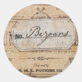 Harry Potter Spell | Bezoars Classic Round Sticker