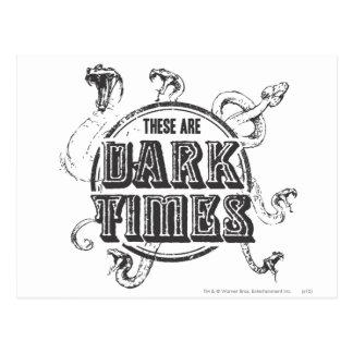 Harry Potter Spell | Dark Times Postcard