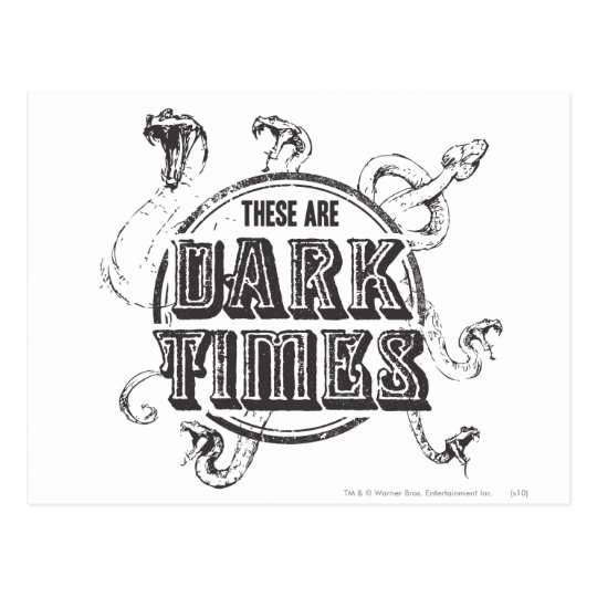 Harry Potter Spell | Dark Times Postcard