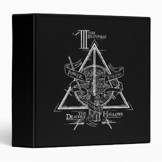 Harry Potter Spell | DEATHLY HALLOWS Graphic Binder