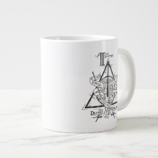 Harry Potter Spell | DEATHLY HALLOWS Graphic Giant Coffee Mug