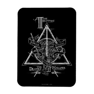 Harry Potter Spell | DEATHLY HALLOWS Graphic Magnet