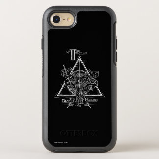 Harry Potter Spell   DEATHLY HALLOWS Graphic OtterBox Symmetry iPhone 8/7 Case