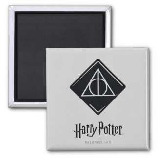 Harry Potter Spell | Deathly Hallows Icon Magnet