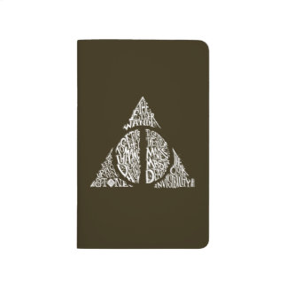 Harry Potter Spell | DEATHLY HALLOWS Typography Gr Journal